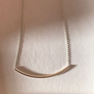 "Dogeared Jewelry - Dogeared ""Balance"" Curved Tube Necklace"